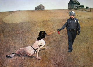 3-lt-john-pike-pepper-spraying-andrew-wyeth_s-christina_s-world